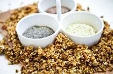 Ultra Healthy Granola Recipes - Super Seed Trifecta Granola Boasts Hemp, Chia and Flax