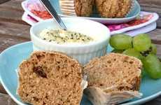 Apple Hemp Muffins - Dreena Burton Creates a Deliciously Healthy Baked Good Recipe
