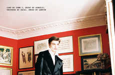 Candid Gentleman Editorials - TANK Magazine's Art of Memory Story is Dapper and Distinguished