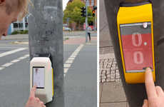 Traffic Light Video Games - StreetPong by HAWK University Makes Waiting at a Red Light More Fun