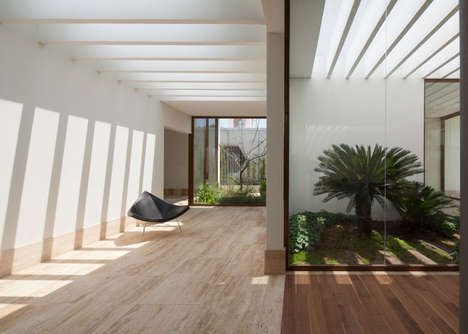 Multi-Garden Abodes - The 'House of Eight Gardens' Features Views of the Abundant Plant Life