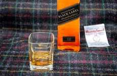 Scotch Scented Jackets - Harris Tweed and Johnnie Walker Scotch Made a Jacket for Whiskey Lovers