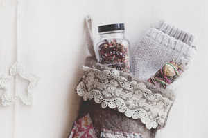Yule Love This Free People DIY Stocking Craft This Holiday Season