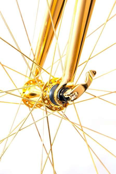 Gold-Plated Bicycles - Goldgenie's 24 Karat Bicycle Costs $390,000