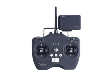 Camera-Toting Quadcopters - The Aries Blackbird X10 Captures High Quality Footage