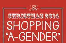 Holiday Gender Shopping Charts - This Gender Shopping Guide Shows Spending Habits of Males & Females