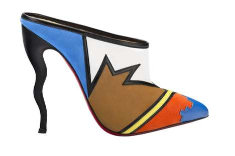 Pop Art Stilettos - The Christian Louboutin SS15 Collection Resembles the Likes of Andy Warhol