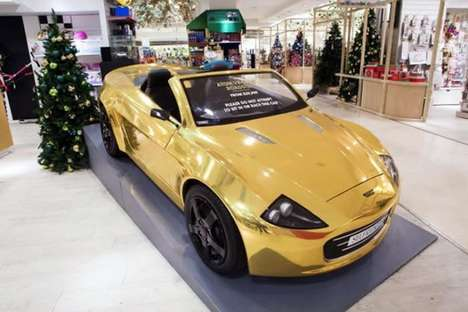 Bank-Breaking Toy Cars - The Atom Car Retails for £30,000 at Selfridges' Oxford Street Store