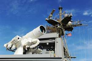 The Laser Weapons System Can Destroy and Disable Targets