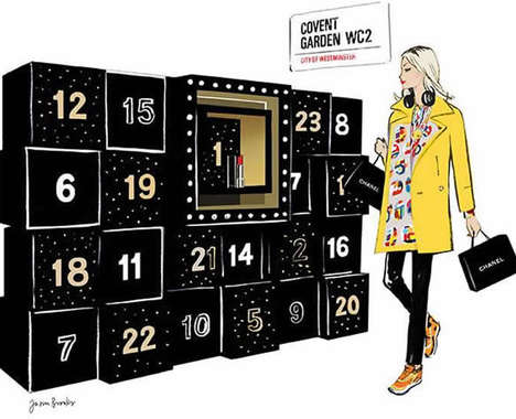 Fashionable Advent Calendars