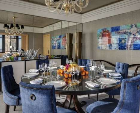 Luxe Jewel-Themed Accommodations