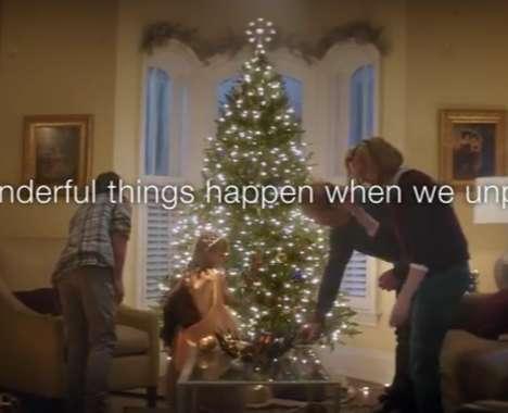 Festive Anti-Tech Ads