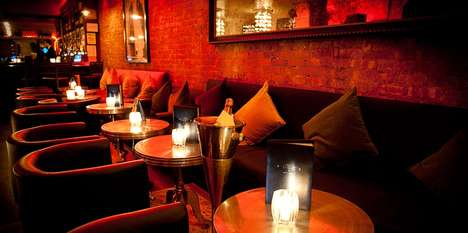 High-Class Champagne Bars - The Flute Bar Boasts a VIP Bottle Service and Lavish Atmosphere