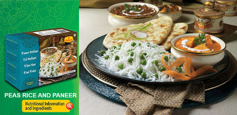 Frozen Indian Feasts - Haldiram's Frozen Thalis Bring Traditional Indian Cooking To Your Microwave