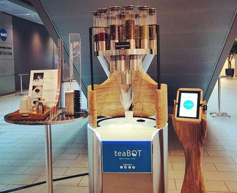 Touchscreen Tea Machines