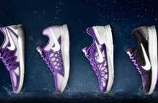 Reflective Winter Running Shoes - The Nike Flash Pack Keeps Cold Weather Runners Visible and Dry