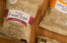 Svenska LantChips Present Themselves as Earthy, Healthy Chips
