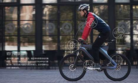 Self-Powered Smart Bikes - Baidu's Dubike Tracks Your Performance and Generates Its Own Energy