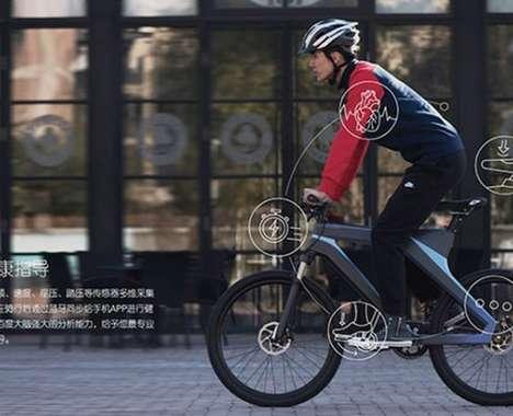 Self-Powered Smart Bikes