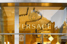 Luxurious Heritage Boutiques - The New Versace Barcelona Store is Reflective of the Brand's Image