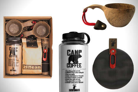 Gourmet Camping Boxes - Intended for Tentside Brewing, This Coffee Kit is Available From Bush Smarts
