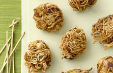 Ramen-Covered Meatballs - These Asian-Inspired Porcupine Meatballs are Easily Customizable