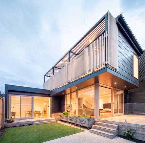 Sustainable Glazed Abodes - Tim Spicer Architects Renovated a Heritage Home in Melbourne