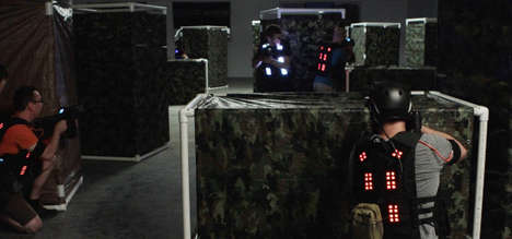Electrifying Laser Tag Games - The Battlegrounds Laser Tag Experience is Uber-Intense