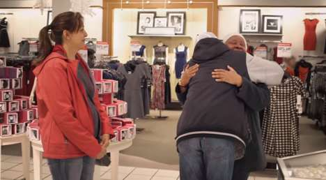 Gift-Sharing Stunts - JCPenney's 'The Gift of Giving' Helps Shoppers Gift Other Consumers