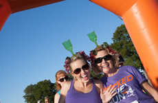Alcohol-Driven Sporting Events - The Wicked Wine Run Takes Place in Vineyards and Wineries