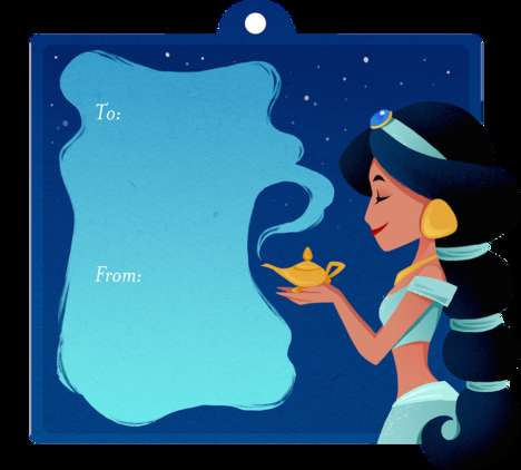 Disney Princess Gift Tags - Christmas Gets More Magical with the Help of Fairy Tale Characters