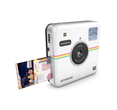 Social Media-Focused Cameras - The Polaroid Socialmatic Camera is Equipped with WiFi