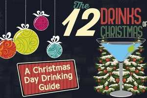 Revivol's Infographic Provides 12 Holiday Drink Recommendations