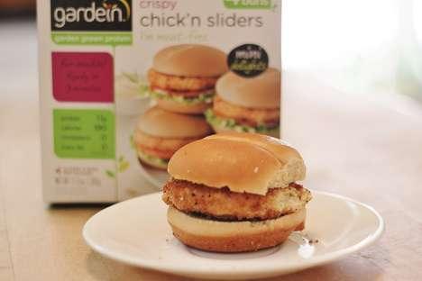 Bite-Sized Vegan Burgers - Gardein's Tiny Veggie Burgers Taste Like Chick'n