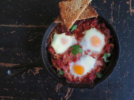 Italian-Israeli Breakfasts - The Food52 Bakes Eggs Post Merges Cultures and Flavors Within Dishes