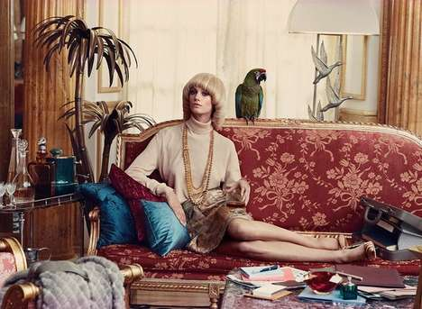 Vintage Housewife Editorials - The Financial Times' How to Spend It Fashion Story is Extravagant