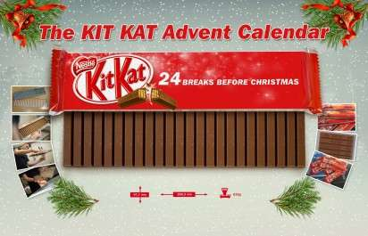 28 Branded Advent Calendars - From Christmas Cosmetic Calendars to Shipping Container Calendars