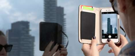 Notebook Phone Cases - Moleskine's iPhone 6 Cover Bridges the Gap Between Digital and Analog