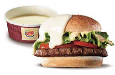 Cheesy Burger Dipping Sauces - Burger King Japan is Introducing Cheese Fondue to the Menu in January