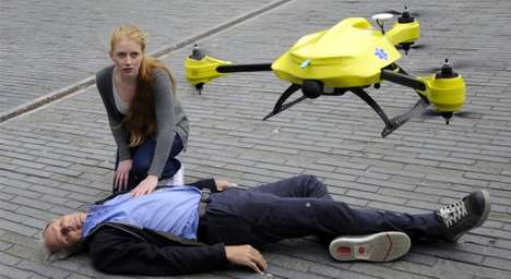 50 Examples of Useful Drone Technology - From Fire-Fighting Drones to Fetching Personal Drones