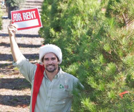 Live Tannenbaum Rentals - The Living Christmas Co. Rents Out Live Christmas Trees
