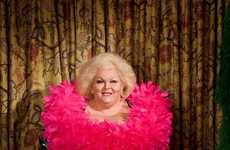 Aging Burlesque Dancer Photos - This Photo Series Showcases Legends of Burlesque in Their Old Age
