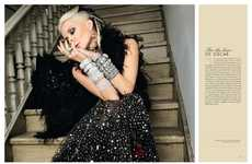 Designer Tribute Editorials - The For the Love of Oscar Photoshoot Recognized the Work of ODLR