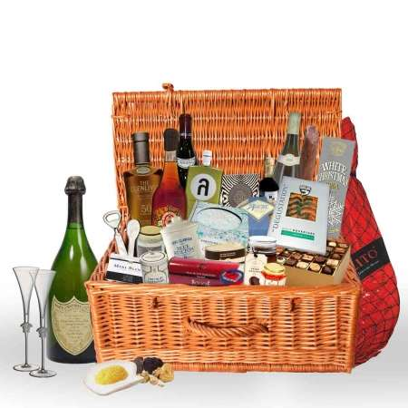 Opulent Gift Baskets - VeryFirsTto's Luxury Gift Basket is Filled with Over-the-top Items