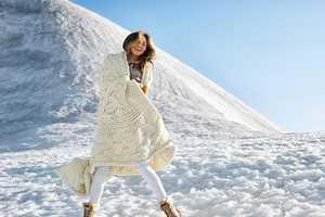 The UGG Australia Chrissy Teigen Winter Campaign Features Snow Caps