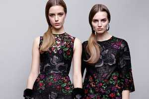 The Elie Saab Pre-Fall Line Works with Multiple Themes and Decades