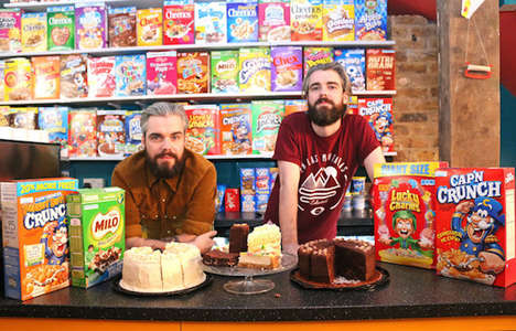 Nostalgic Cereal Cafes - London's Cereal Killer Cafe Serves Over 60 Types of Cereal