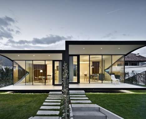 Camouflaged Glass Residences