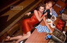 The Jason Wu Spring/Summer Kloss Campaign Displays Dining Tables