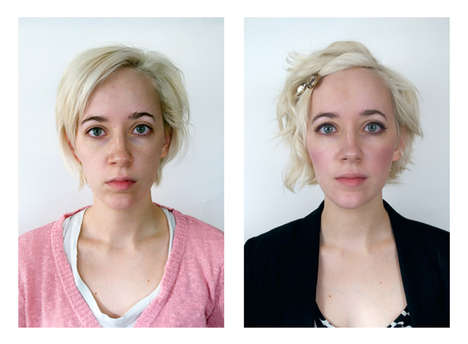 Daily Transformation Portraiture - Mel Keiser Explores Self-Image in Her Latest Series
